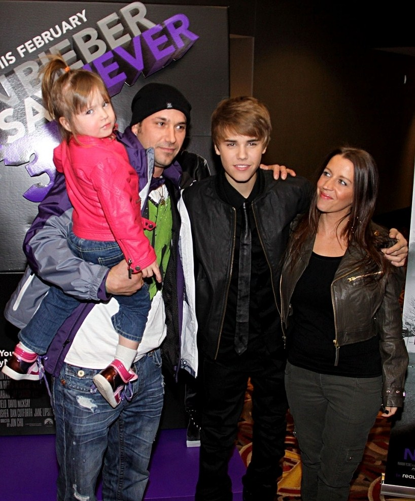 Justin Bieber Dad Jeremy. JUSTIN BIEBER was joined by